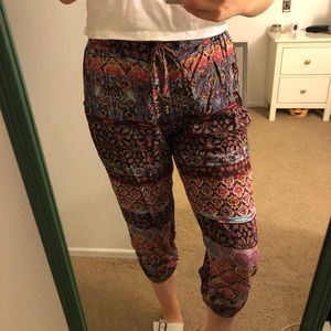 American Rag colorful cropped pants